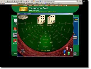how to play baccarat video